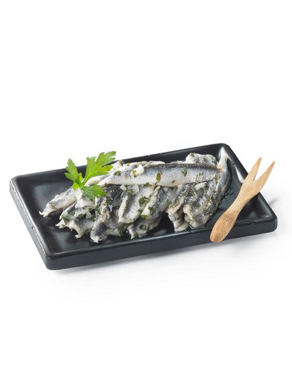 tapas anchois ail